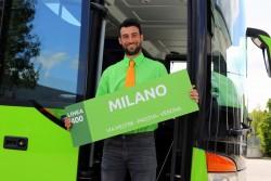 Автобусный лоукостер в Италии