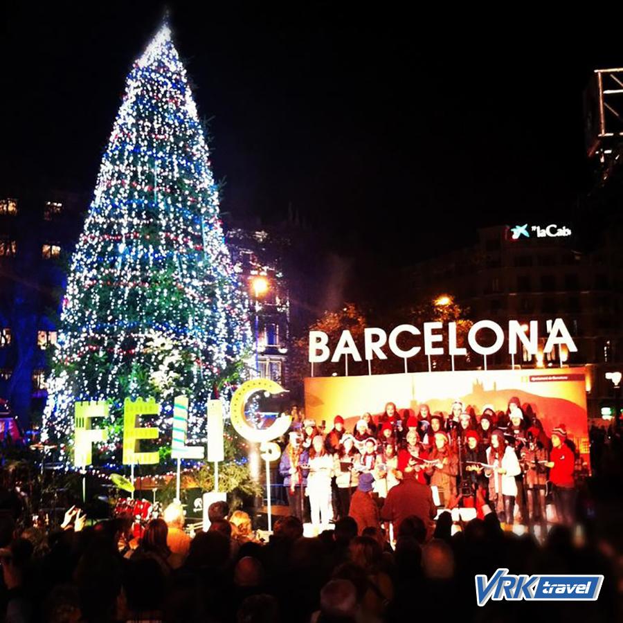 Новый год рождество испания