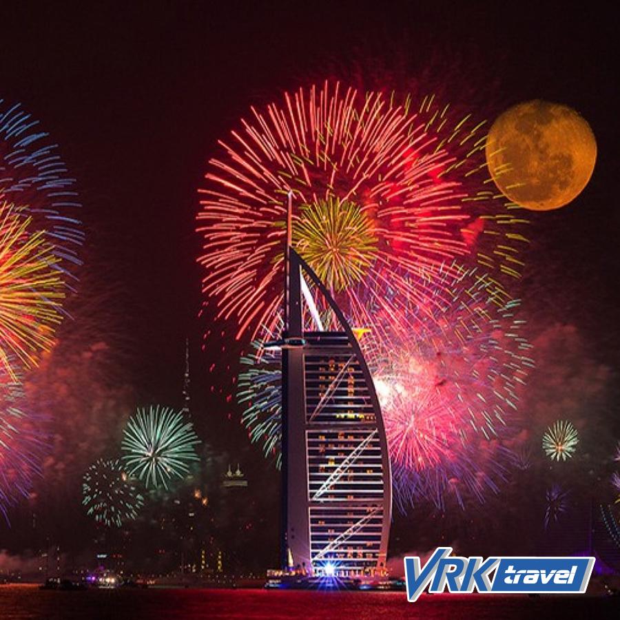 Новый Год в Арабских Эмиратах