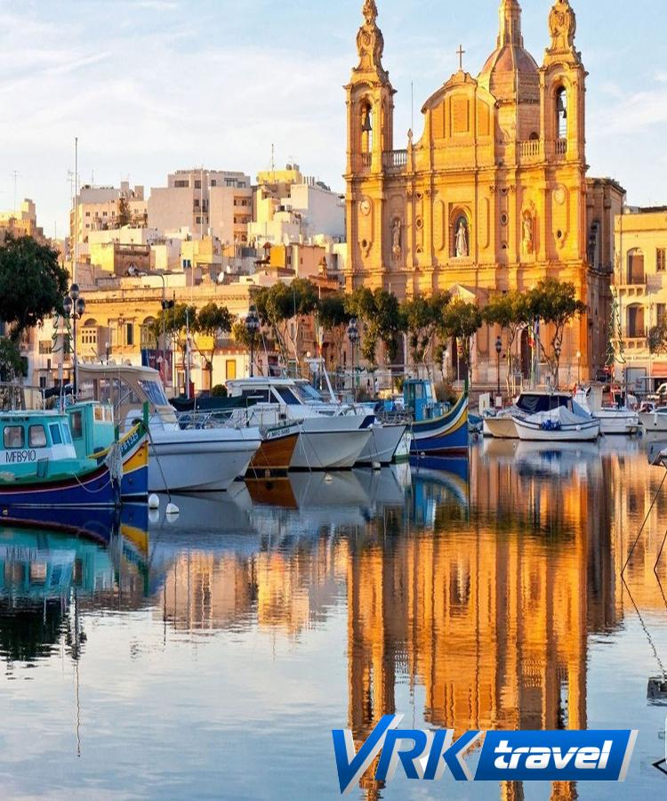 Мальта  (авиа)  9 дней