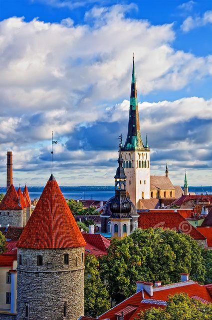 Встреча нового года в Таллине