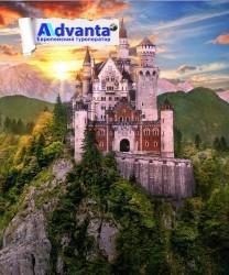 Замок Нойшванштайн - сокровище Альп