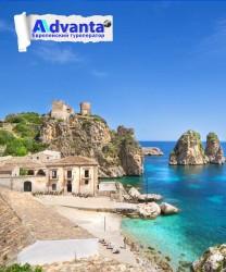Сицилия с круизом + Прага, Милан, Палермо и вулкан Этна!