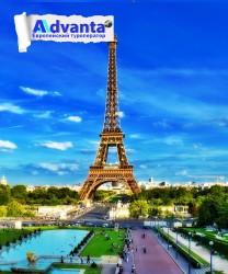 Париж с круизом